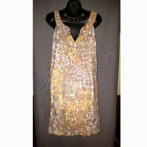 Ann Taylor Loft shift dress fully lined size 12